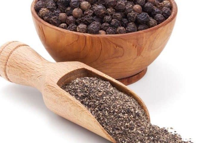 Black peppar